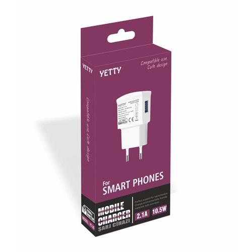 USB ŞARJ 2.1A YT-30(5Lİ)