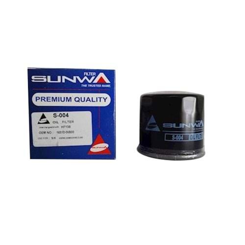 SUNWA S-004 YAĞ FİLTRESİ GSXR600,GSXR750,DL650, BURGMAN 650