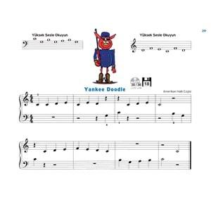 1John Thompson'dan Kolay Piyano Kursu 1.
