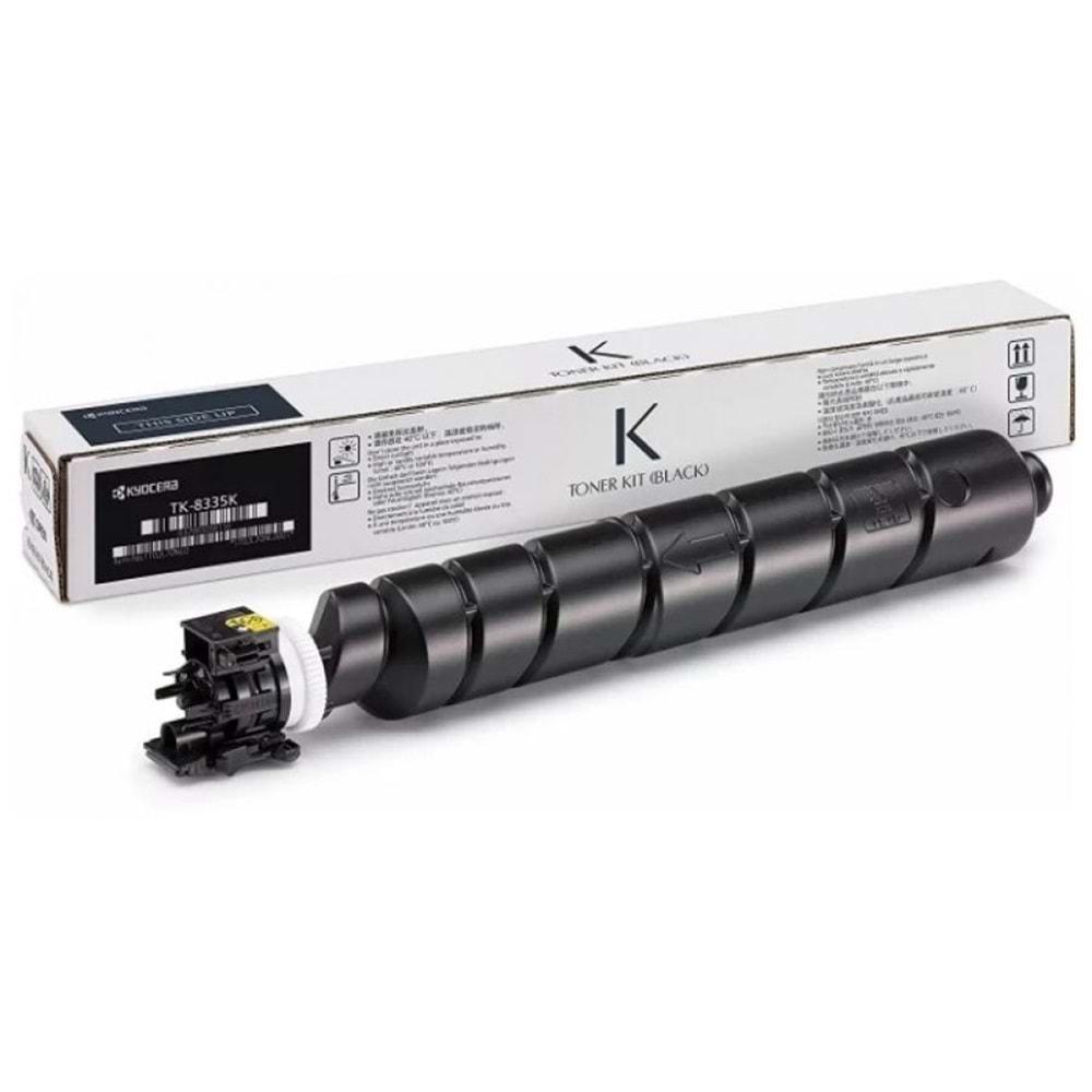 KYOCERA TK-8335K TASKALFA 3252ci/3253ci SİYAH TONER ORJİNAL 25.000 SAYFA 1T02RL0NL0