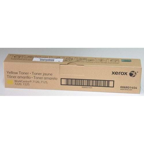 XEROX 006R01454 (006R01462) 7120/7125/7220/7225 SARI TONER ORJİNAL 22.000 SAYFA