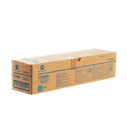 KONICA MINOLTA TN-612C BIZHUB C5501/C6501 MAVİ TONER ORJİNAL 26.500 SAYFA A0VW450
