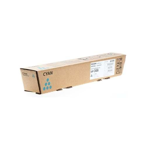 RICOH MP-C306C MPC306/406/MPC307/MPC407 MAVİ TONER ORJİNAL 6.000 SAYFA 842096
