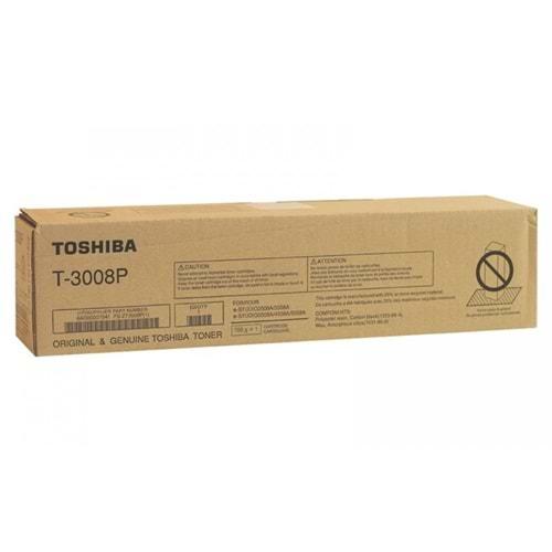 TOSHIBA T-3008P e.STD.2008/3008/3508/4508/5008 SİYAH TONER ORJİNAL 43.900 SAYFA