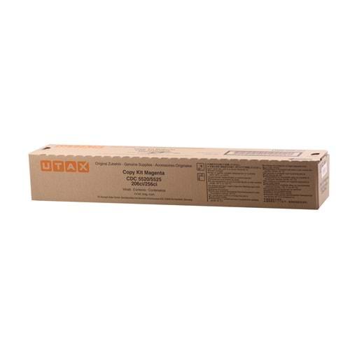 UTAX CDC-5520 CDC-5525-206Cİ-256Cİ T.A.6520 KIRMIZI TONER ORJİNAL 6.000 SAYFA 652511014