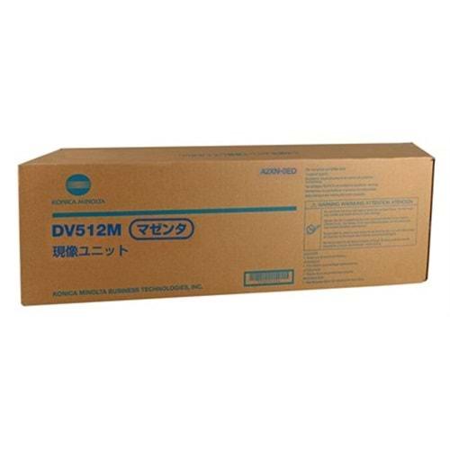 MINOLTA DV-512M C224/284/364/454 KIRMIZI DEVELOPER ÜNİTE ORJ 590K