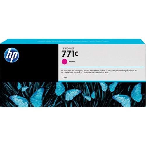 HP B6Y09A (771C) Z6200/6600/6800 MACENTA 775 ML KARTUŞ ORJİNAL
