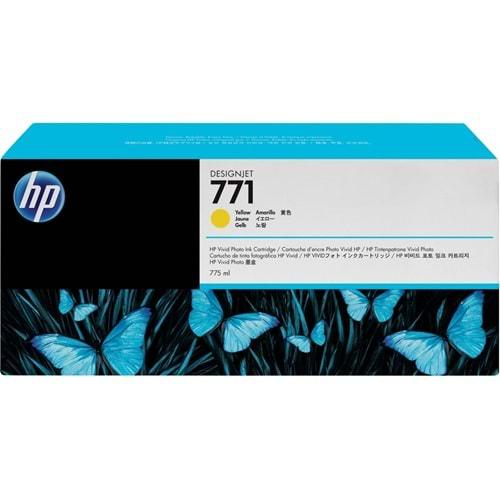 HP B6Y10A (771C) Z6200/6600/6800 SARI 775 ML KARTUŞ ORJİNAL