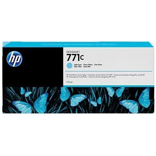 HP B6Y12A (771C) Z6200/6600/6800 ACIK CAMGOBEGI 775 ML KARTUŞ ORJ
