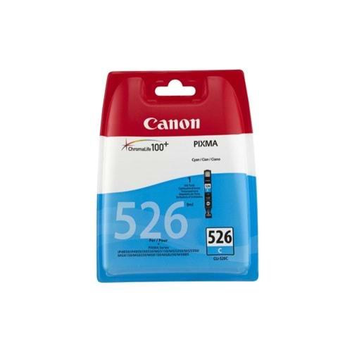 CANON CLI-526C MG5150/MX715/IP4850 MAVİ KARTUŞ ORJİNAL 520 SAYFA