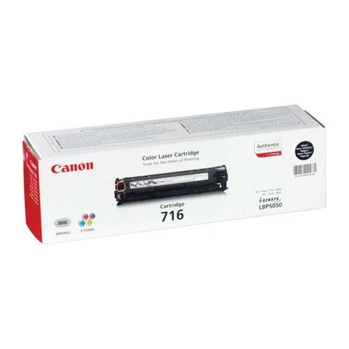 CANON CRG-716BK 5050/8030/8050/8080 SİYAH ORJİNAL TONER 2.200 SYF