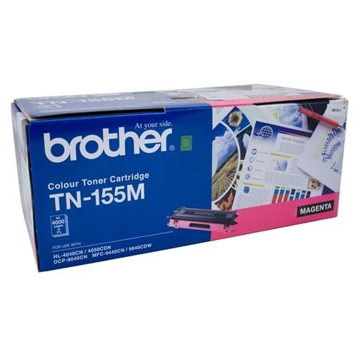 BROTHER TN-155M HL-4040/4050/4070/DCP-9040 KIRMIZI TONER ORJİNAL 4.000 SAYFA