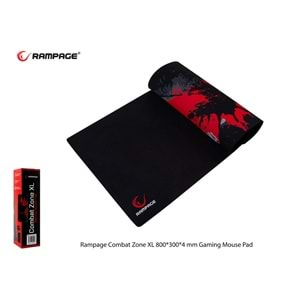Rampage Combat Zone XL 800*300*4 mm Gaming Mouse Pad